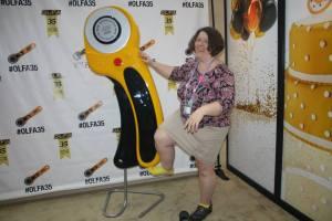 Olfa rotary cutter anniversary goofing