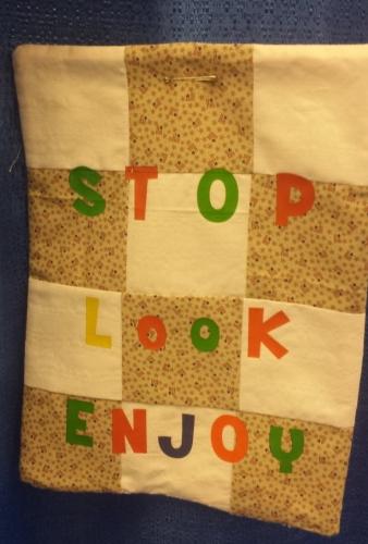 stop look enjoy